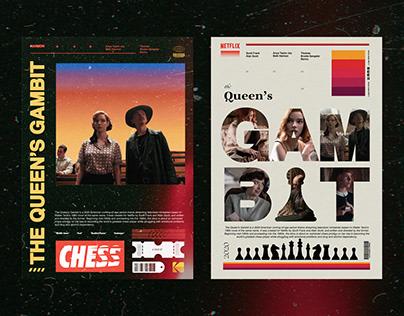 The Queen's Gambit - Poster Design