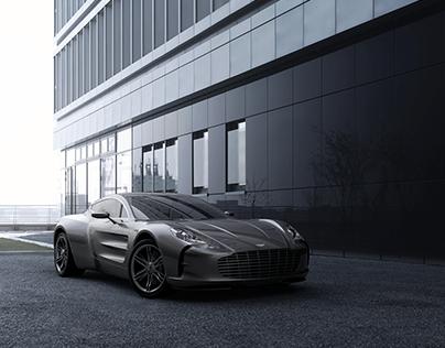 Aston Martin - One 77 // A-Class Modeling