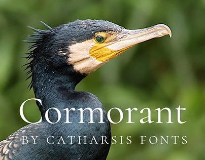 Cormorant — an open-source display font family