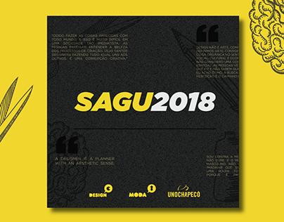 SAGU - Semana Acadêmica do curso Design e Moda
