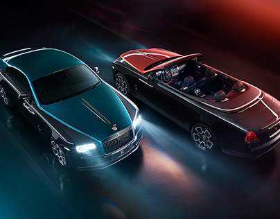 Rolls-Royce Adamas Collection Black Badge Dawn & Wraith
