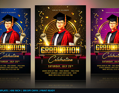 Graduation Flyer/ Invitation