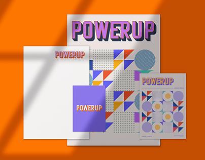 PowerUp Full brand Identity