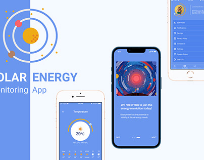 Salar Energy Monitoring App