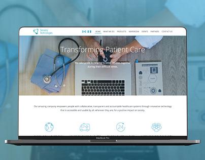 Website Design for Medical Software Company