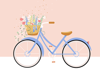 Animation: Bicycle in Bloom