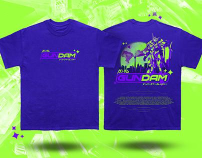 Gundam Merch concepts (Tshirt, Hoodie, Lighter...)