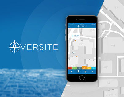 Oversite - Interactive Campus Map App Design