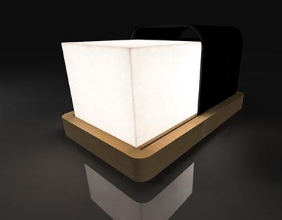 Luminária Reru - conceito