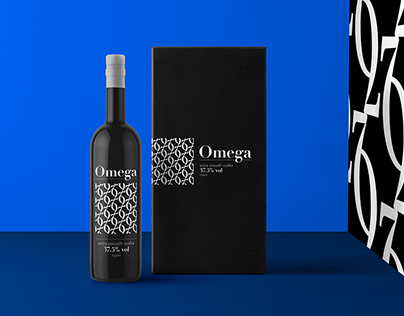 Omega Vodka Branding