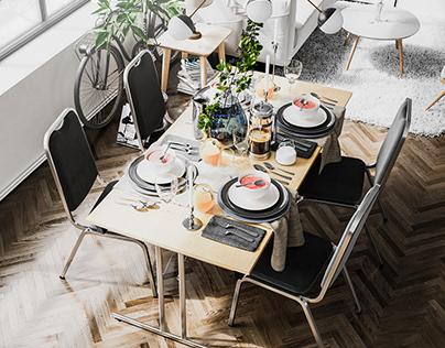 Rustic Dinning
