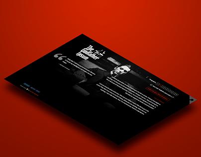 Website: The Godfather Ipsum (2018)