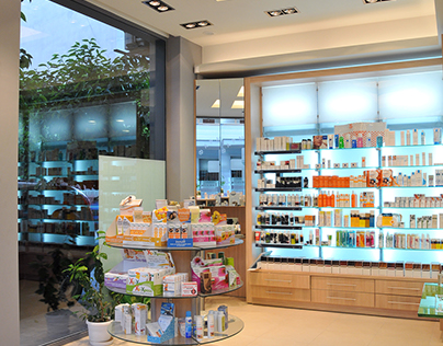 Pharmacy in Athens, Greece