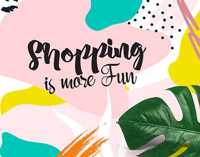 Shopping is MORE fun.