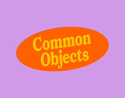 Common Objects - Brand Identity