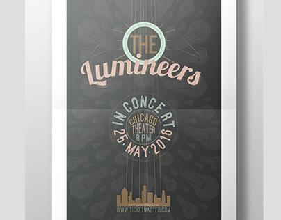 The Lumineers - Poster design