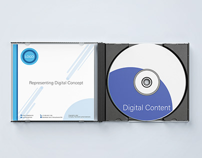 Professional DVD Cover for Corporate Business