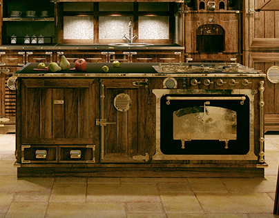 Classic kitchen (2009 year)