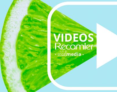 VIDEOS PROMOCIONALES PARA TALLINK • MARCA RECAMIER •