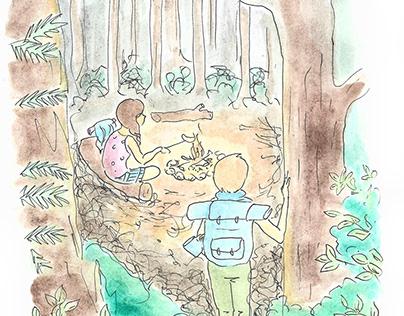 Alex and Lulu journey through the cat apocalypse