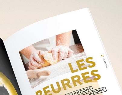 Livre blanc du beurre / Layout Edition