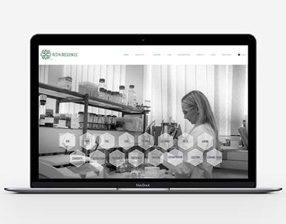 ReSyn Biosciences Commerce Wordpress Website