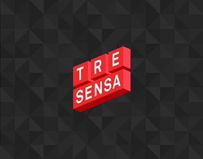 TreSensa Corporate Website Redesign