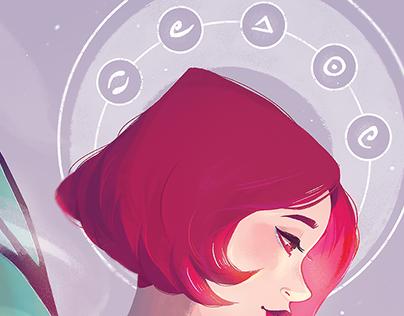 Heroine Artbook Illustration