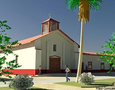 Iglesia Gualleco / Gualleco's Church - 2011