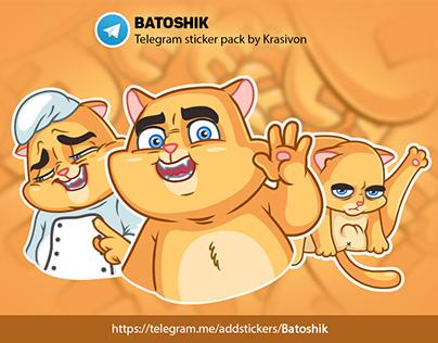 Animated stickers : Batoshik