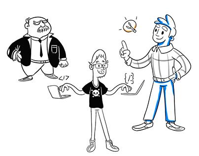 Blog illustrations- Project managment