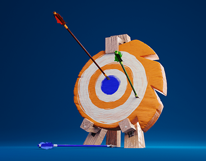 3D logo - Popolo Di Blender
