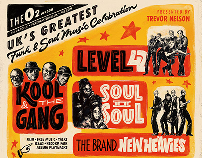 Funk & Souk music festival poster