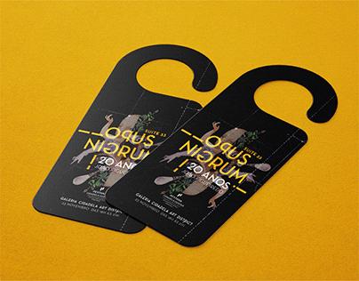 Art Exhibition Invitation, 20 years João Figueiredo
