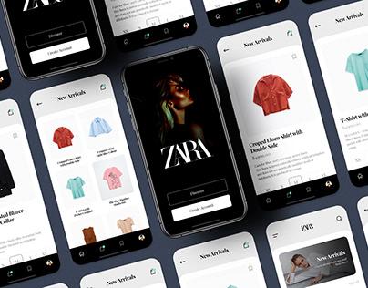 Zara - Shopping App