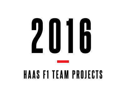 2016 Haas F1 Team Projects