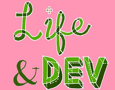 Life & Dev Logo Design