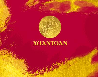 'XUANTOAN' GOLD EDITION - BRANDING
