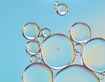 Photo Series: Liquids / Case 02: Oil Drops