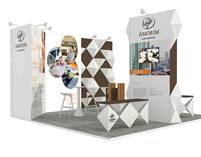Amorim Cork Composites Exhibition Concept