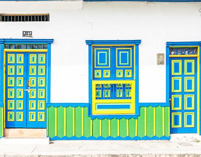 Doors of Salento, Colombia