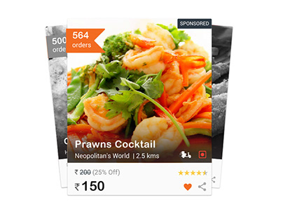 Food Discovery and Delivery App