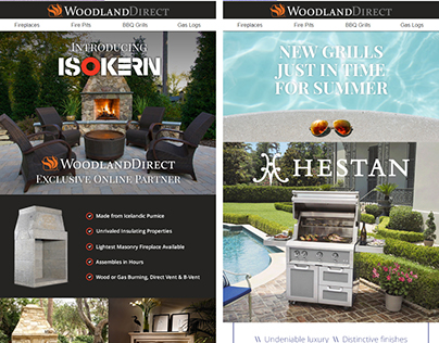 Email Campaigns for Woodland Direct