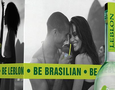 Be Brasilian Be Leblon billboard