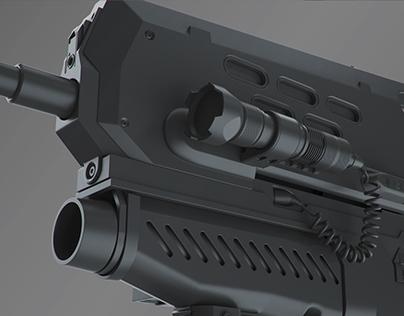GWOZD Assault Rifle