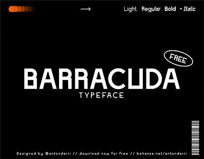 BARRACUDA - FREE TYPEFACE
