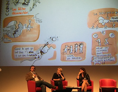 GRAPHIC RECORDING_Conferences_Manpower France&HEC