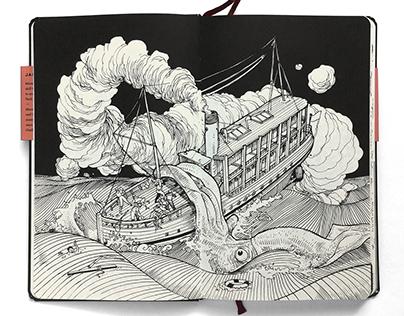 Jared Muralt's Sketch Book 2011-12 publication