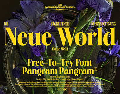 Neue World - Free Font