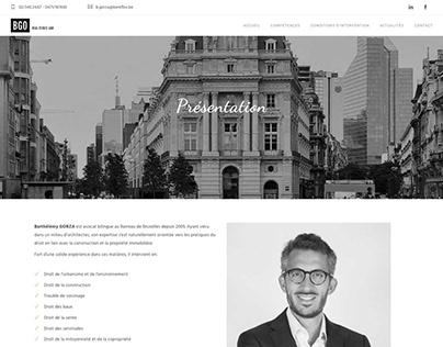 Gorza Avocat - Wordpress website